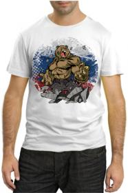 Футболка с медведем